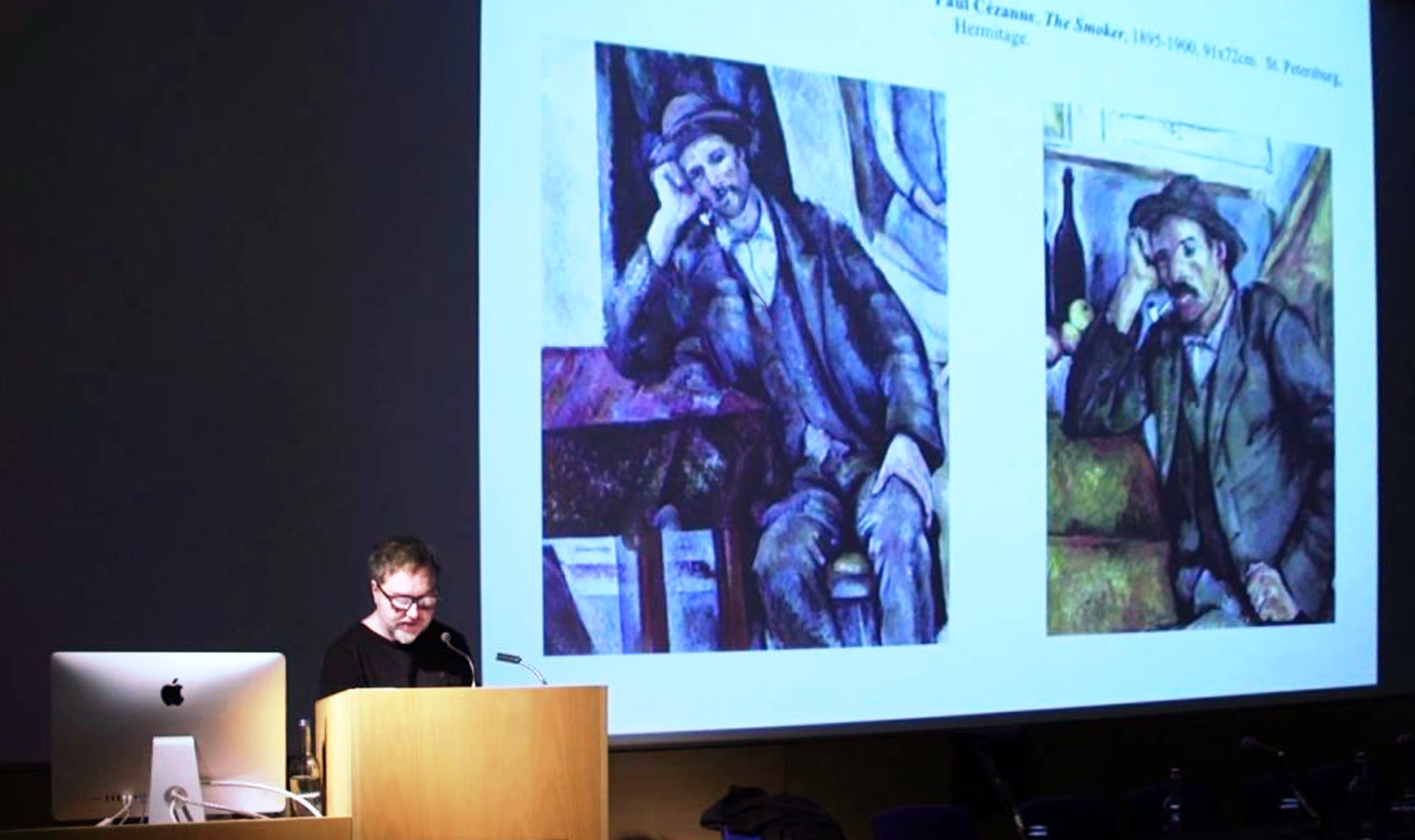 Art, Ethics and the Moving Image Symposium, 2016. Video still: Reynir Hutber